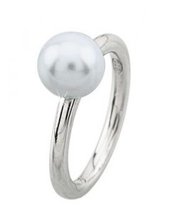 Anello 2 Jewels in Argento 925 e perla Glitter 223069