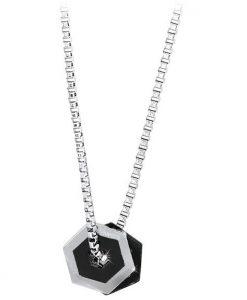 Collana 2Jewels Hexagon Gioielli Uomo 251331
