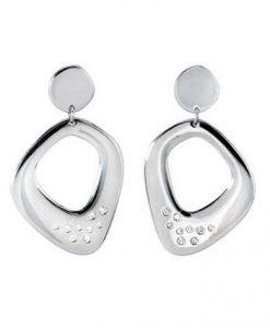 Orecchini 2 Jewels in Acciaio Flat 261108