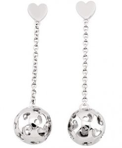Orecchini 2 Jewels in Argento Harmony 263078