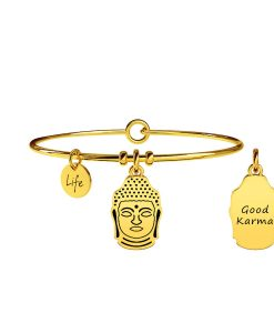 Bracciale Kidult Buddha   Saggezza Gold