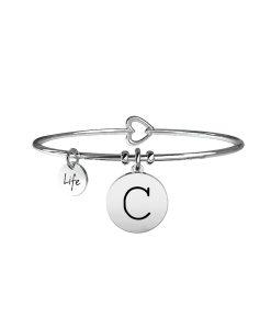 Bracciale Kidult Symbols Iniziale C