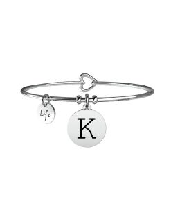 Bracciale Kidult Symbols Iniziale K