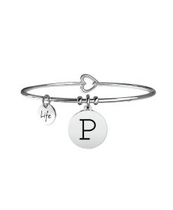 Bracciale Kidult Symbols Iniziale P
