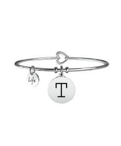 Bracciale Kidult Symbols Iniziale T