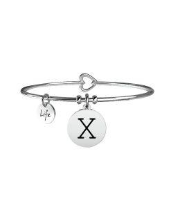 Bracciale Kidult Symbols Iniziale X