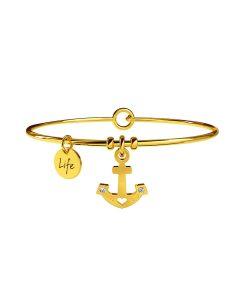 Bracciale Kidult Symbols Ancora | Stabilità Gold
