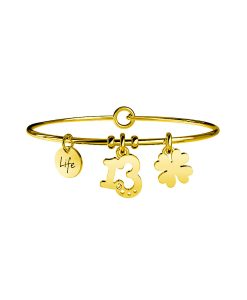 Bracciale Kidult Symbols 13 | Ricchezza Gold