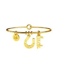 Bracciale Kidult Symbols Ferro di Cavallo | Salute Gold