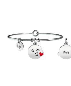 Bracciale Kidult Symbols Kiss