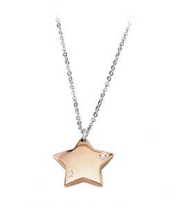 Collana 2 Jewels Stella rosè Puppy 251186