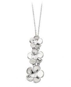 Collana 2 Jewels in Acciaio e Zirconi Daisy 251261