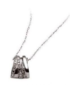 Collana 2 Jewels in Argento 925 e Zirconi Life 253060