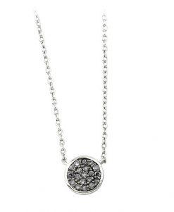 Collana 2 Jewels in Argento 925 e Zirconi Glitter 253120