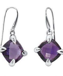 Orecchini 2 Jewels in Bronzo rodiato e Ametista 261058