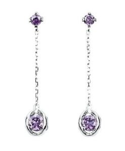 Orecchini 2 Jewels in Argento Wheels 263064