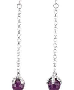 Orecchini 2 Jewels in Argento Sparkle 263066