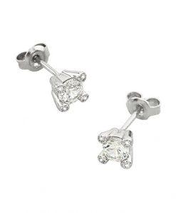 Orecchini 2 Jewels in Argento e Zirconi Glitter 263084
