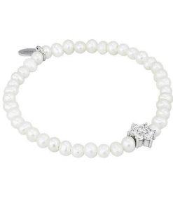 Bracciale Mabina in Argento e Perle Gioielli Donna 533032