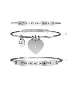 Bracciale Kidult Life Love Lui & Lei | Always & Forever