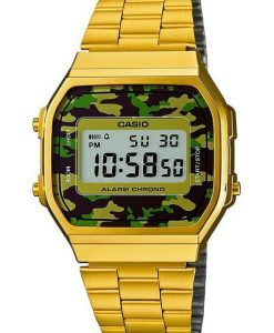 Orologio Casio Vintage Collection Dorato Camo A168WEGC-3EF