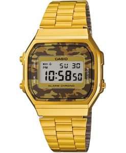 Orologio Casio Vintage Collection Dorato Camo A168WEGC-5EF