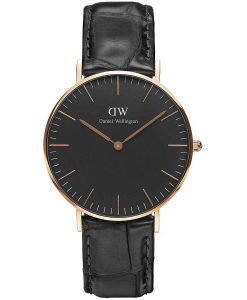 Daniel Wellington Classic Black Reading 36mm