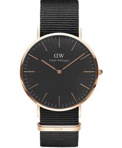 Daniel Wellington Classic Black Conrwall 40mm