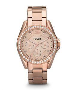 Orologio Fossil Donna Riley Rose Gold
