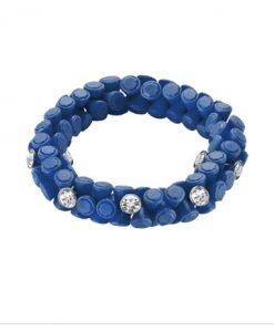 Bracciale Hip Hop Gem Classic Blue