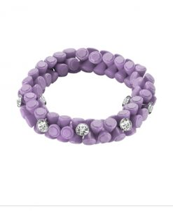 Bracciale Hip Hop Gem Regal Orchid