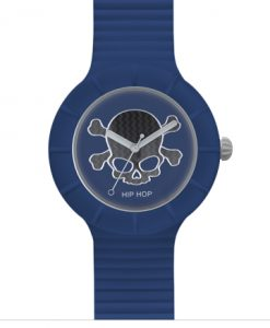 Orologio Hip Hop Skull Blue 42 mm HWU0453