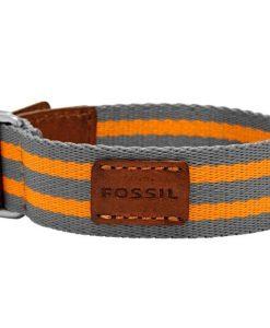 Bracciale Fossil in Tessuto