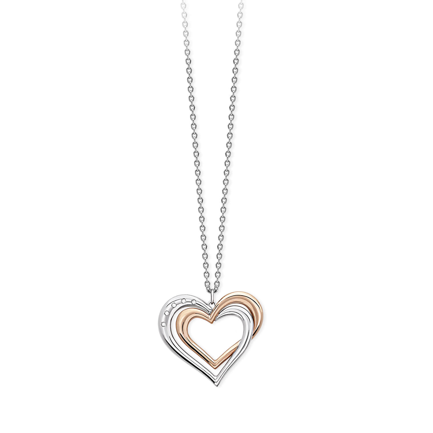 nuovo arrivo 005df 2a1ae Collana 2Jewels Cuore You And I 251595
