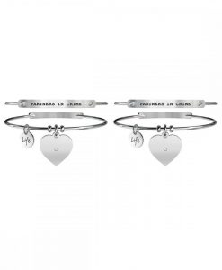 Set Bracciali Kidult Love PARTNERS IN CRIME