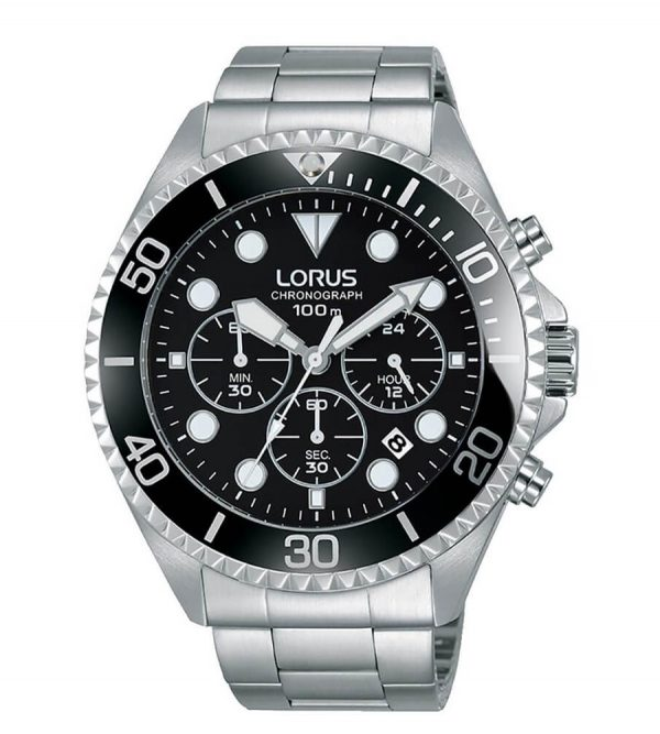Orologio Chronografo Lorus Nero RT319GX9