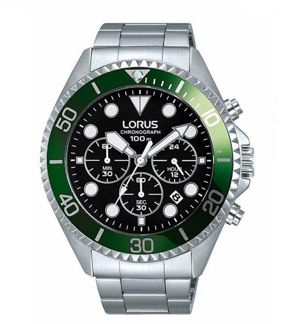 Orologio Chronografo Lorus Verde RT321GX9