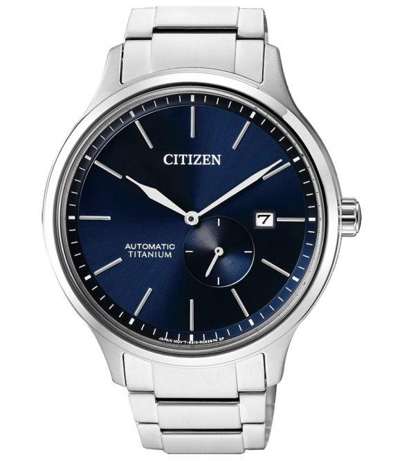 Orologio Citizen Automatico in Titanio Quadrante Blu NJ0090-81L