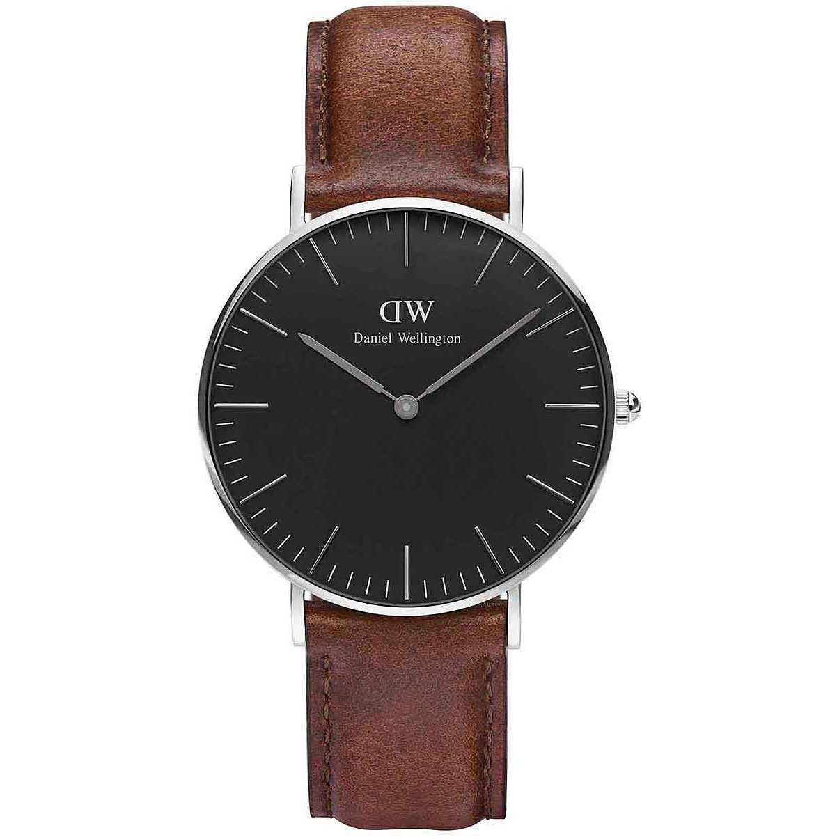 daniel wellington classic black st mawes 36mm w4tch it. Black Bedroom Furniture Sets. Home Design Ideas