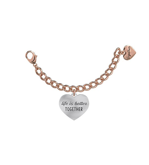 Elemento Bracciale 2Jewels Life is Better Together Love 131015