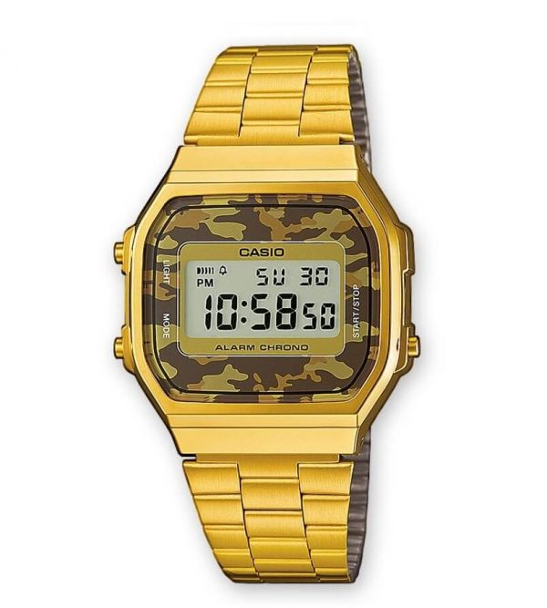Orologio Casio Retro Collection Camo A168WEGC-5EF