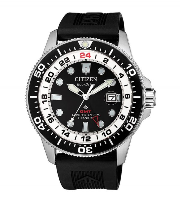 Orologio Citizen Diver's Super Titanio GMT BJ7110-11E