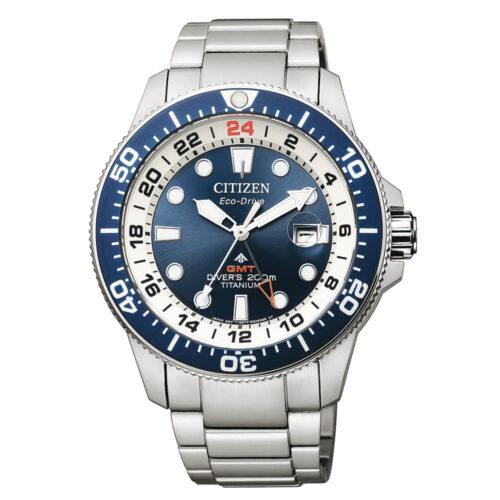 Orologio Citizen Diver's Super Titanio GMT BJ7111-86L