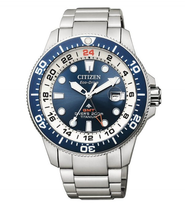 Orologio Citizen Diver's Super Titanio GMT BJ7111-86L