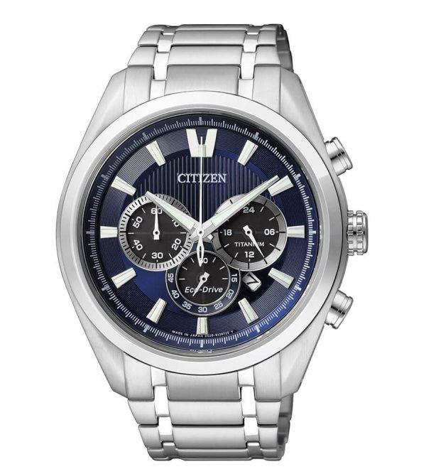 Orologio Citizen Super Titanium Crono Blu CA4010-58L
